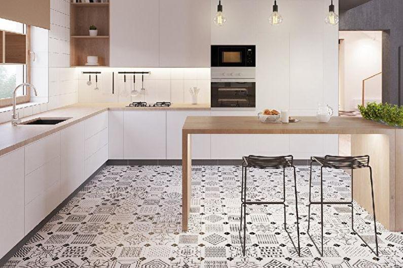 Как правильно выбрать плитку на кухню на пол
