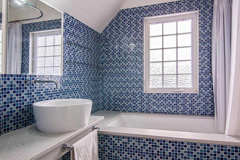 Виды настенной плитки для ванной комнаты