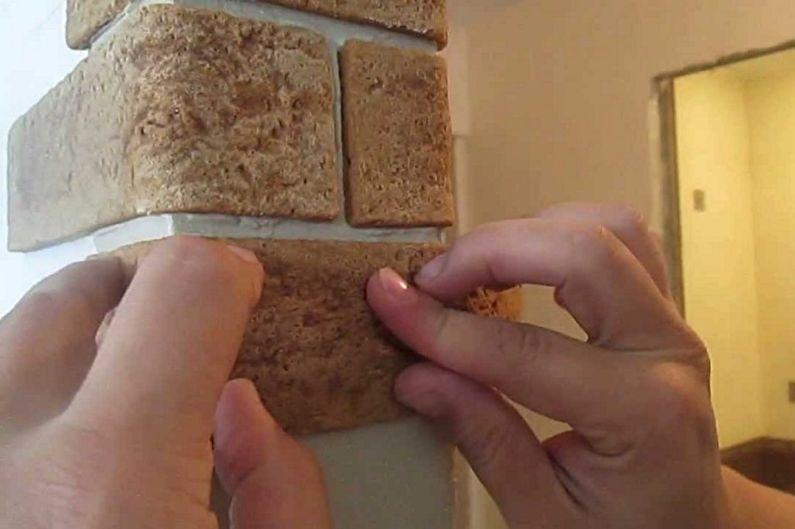 Виды декоративного кирпича для внутренней отделки - Гибкий кирпич