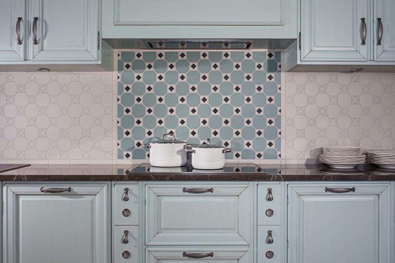 Фартук для кухни из керамической плитки