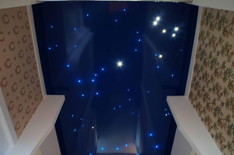 Натяжной потолок в прихожей - Звездное небо
