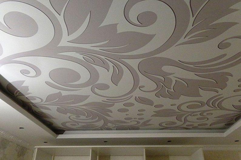 Как помыть натяжной потолок без разводов в домашних условиях - Как мыть тканевые натяжные потолки