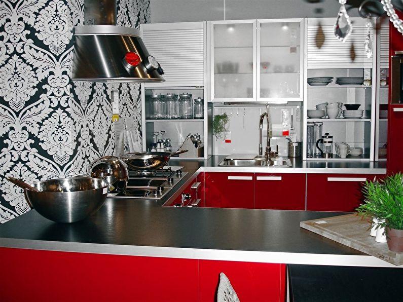 Акриловые обои для кухни