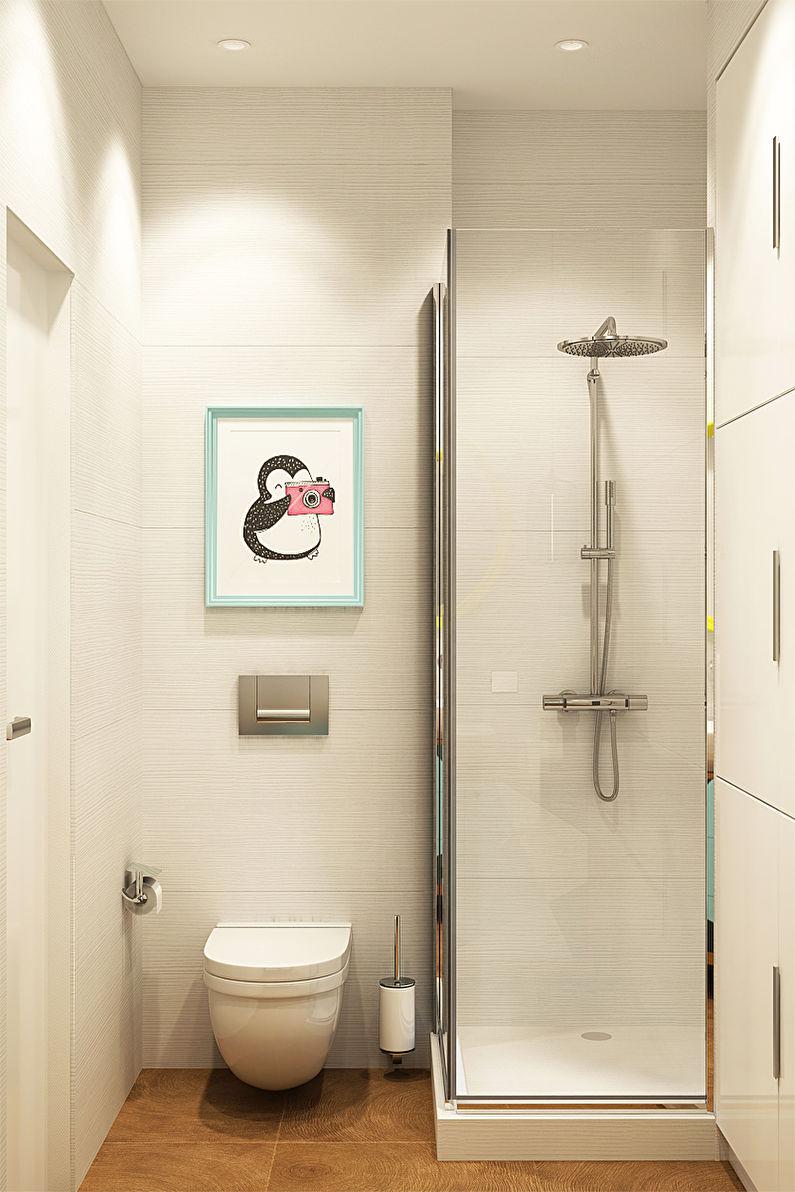 Проект квартиры 40 кв.м. для молодой девушки