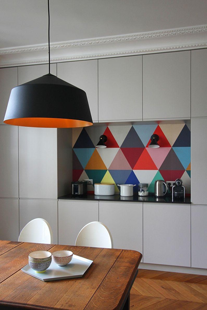 Кухонный гарнитур - дизайн кухни в стиле минимализм