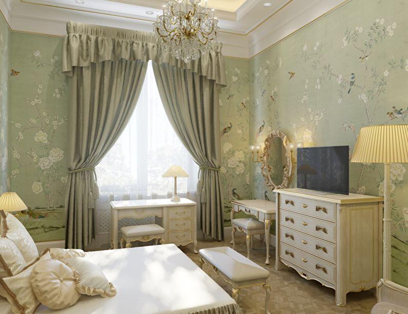 Дизайн маленькой детской комнаты в классическом стиле