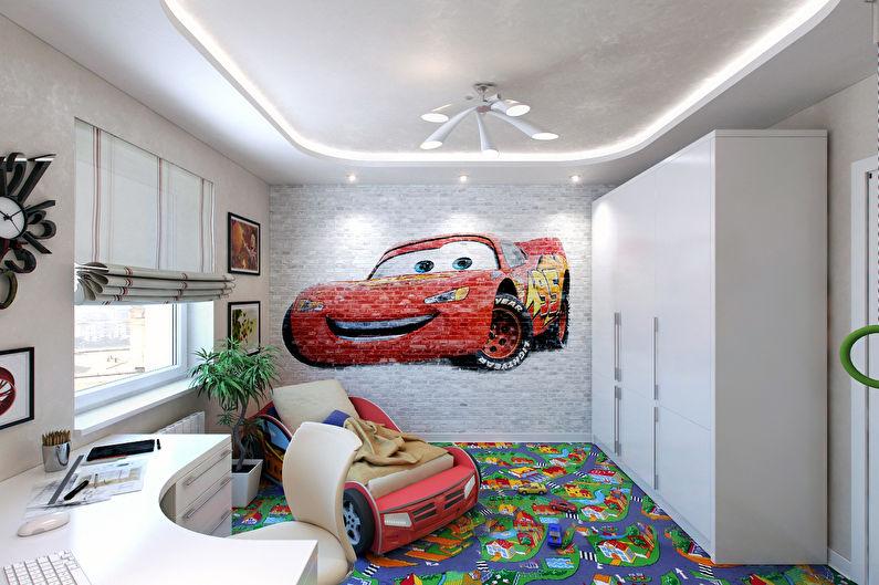 Дизайн маленькой детской комнаты 9-10 кв.м. - фото