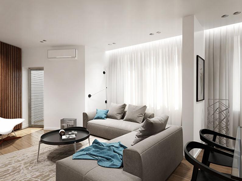 ЖК «12 Квартал»: Двухкомнатная квартира 86 кв.м.