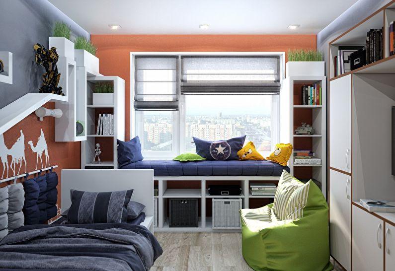 Маленькая детская комната: 50 красивых идей дизайна