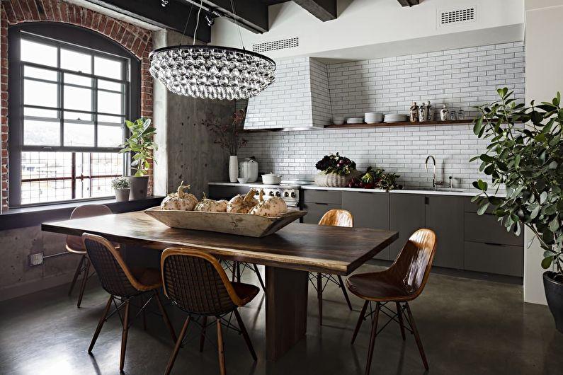 Кухня в стиле лофт: 40 идей для дизайна и ремонта