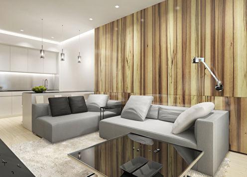 Дизайн квартиры 55 кв.м. в Москве