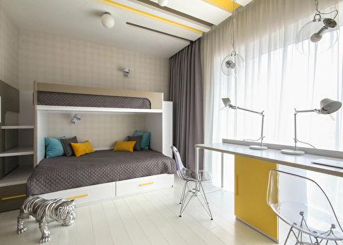 1+1: Дизайн детской комнаты для двух детей