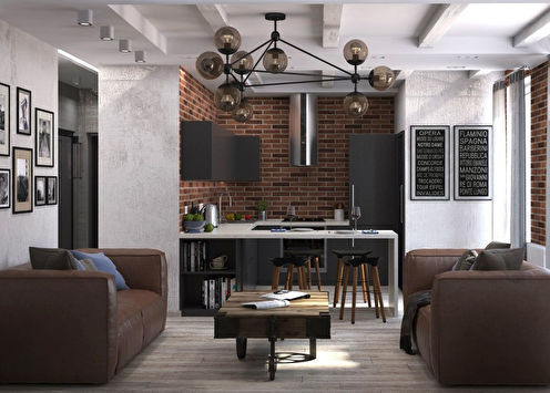 SoftLoft: Квартира для молодой пары