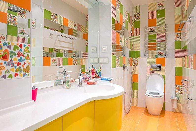 Дизайн узкой ванной комнаты - Основные ошибки