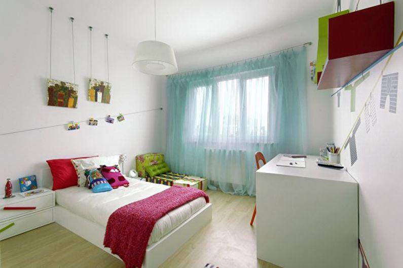 Сочетания цветов в интерьере детской комнаты - Советы дизайнеров