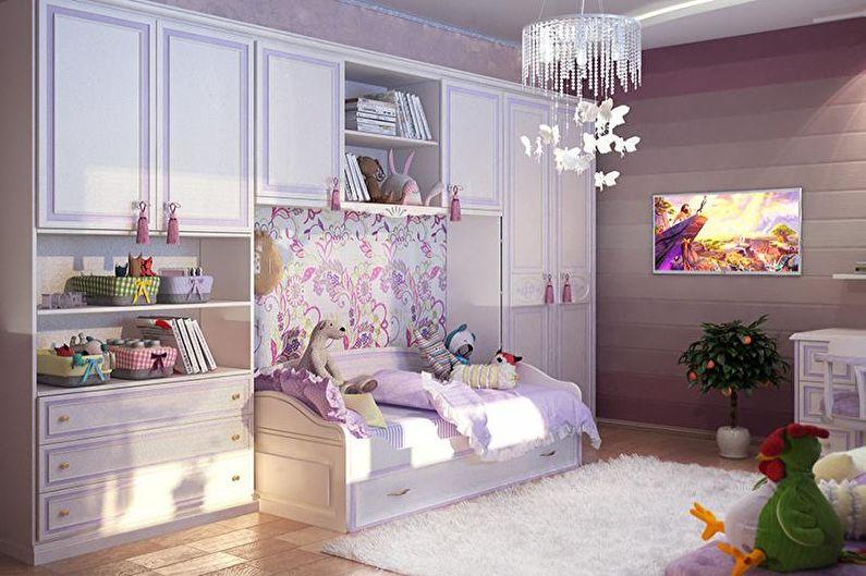 Сочетания цветов в интерьере детской комнаты - Как выбрать цветовые решения