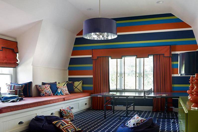 Сочетания цветов в интерьере детской комнаты - Палитра с картинки