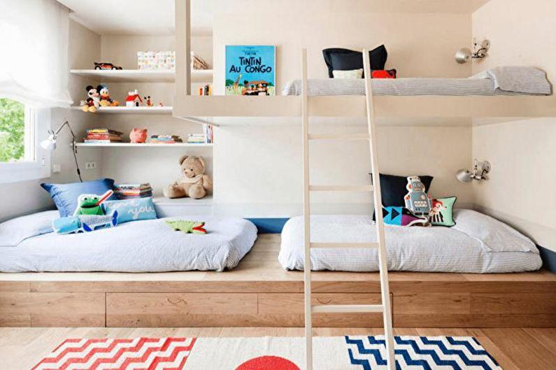 Сочетания цветов в интерьере детской комнаты - Как не попасть в ловушку стереотипов
