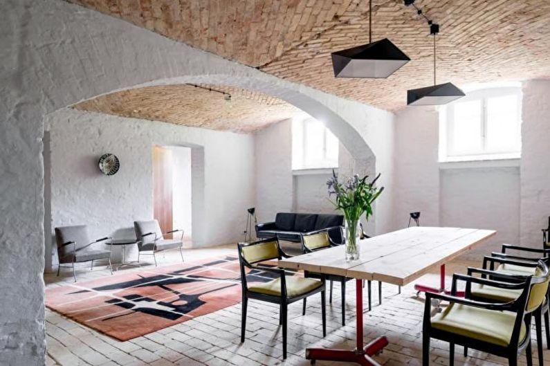 Интерьер коттеджа или загородного дома - Мебель