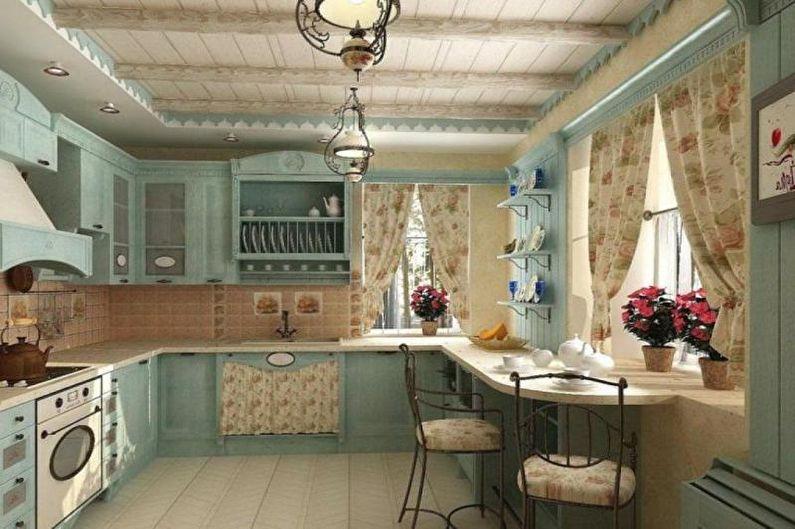 Коттедж или загородный дом в стиле прованс - Дизайн интерьера