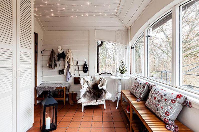 Коттедж или загородный дом в скандинавском стиле - Дизайн интерьера