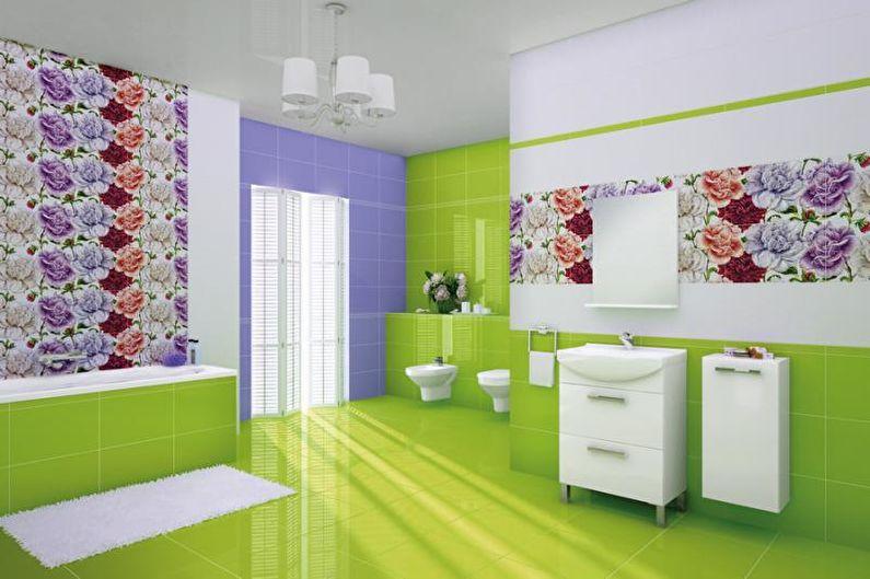 Сочетания цветов в интерьере ванной комнаты - Цветовой круг