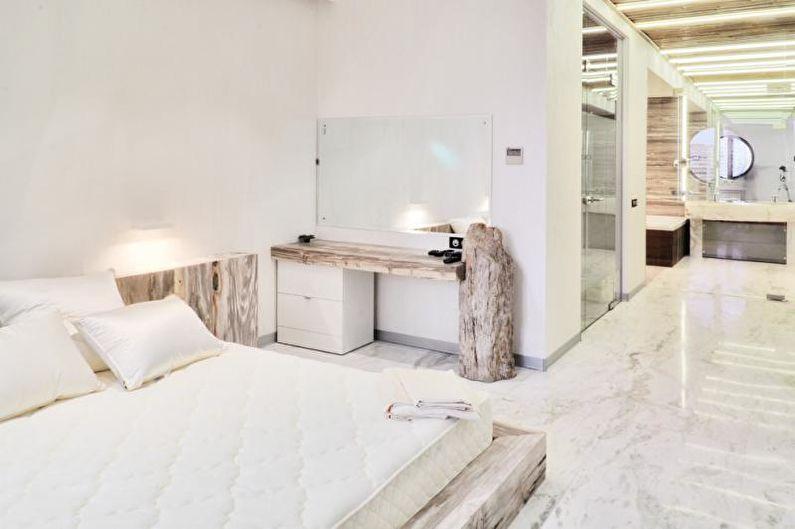 Дизайн спальни 2018 - Отделка пола