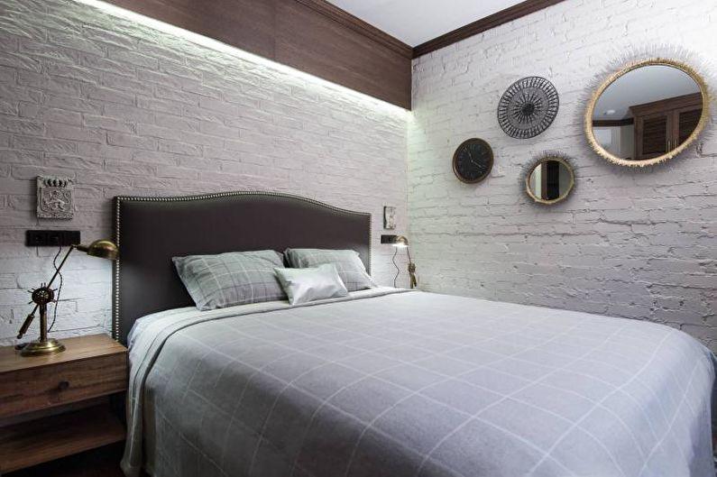 Дизайн интерьера спальни 2018 - фото