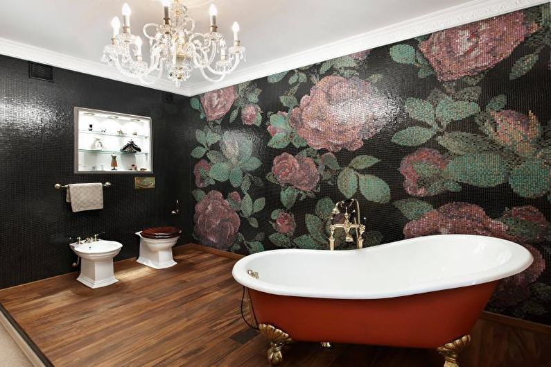 Дизайн ванной комнаты 2018 - Мебель и сантехника