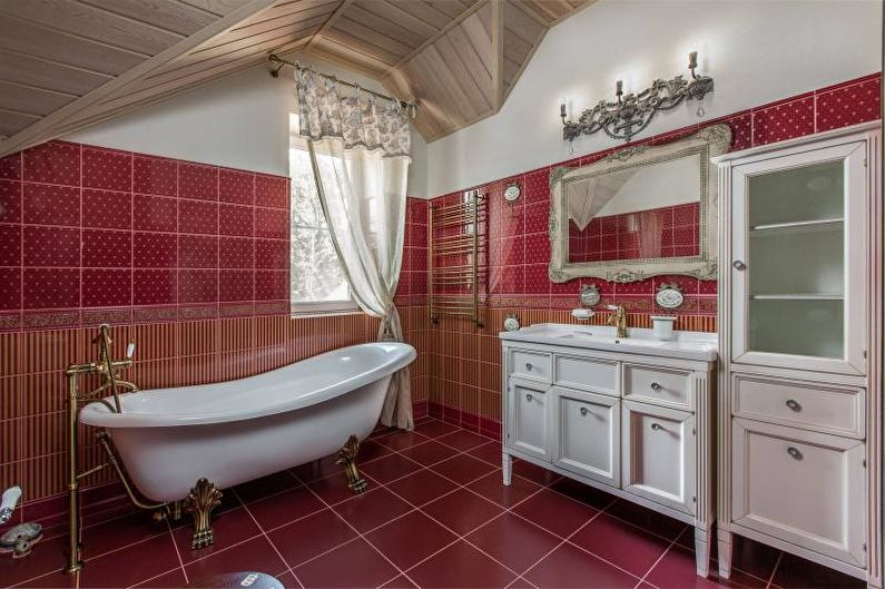 Дизайн ванной комнаты 2018 - Освещение и декор
