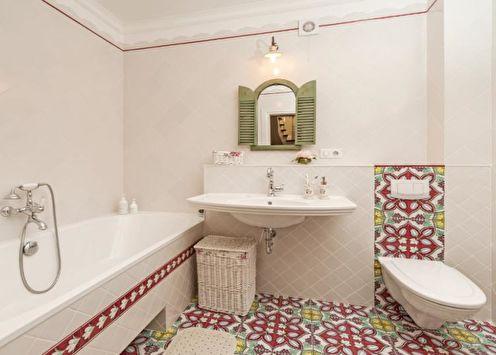 Сочетания цветов в интерьере ванной: 70 идей