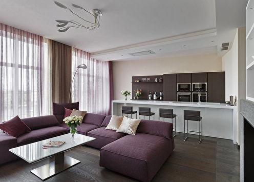 Дизайн квартиры в центре Санкт-Петербурга