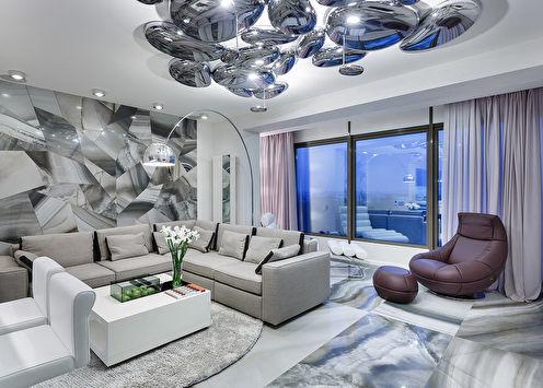 Интерьер квартиры «Роскошь минимализма»