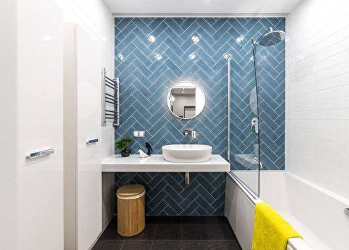 Дизайн ванной 2018: современные идеи (85 фото)