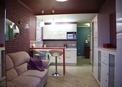 «Ветер Испании»: Небольшая квартира для девушки
