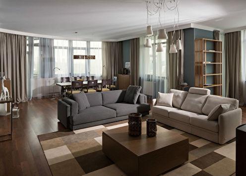 Дизайн квартиры в Киеве, 130 м2