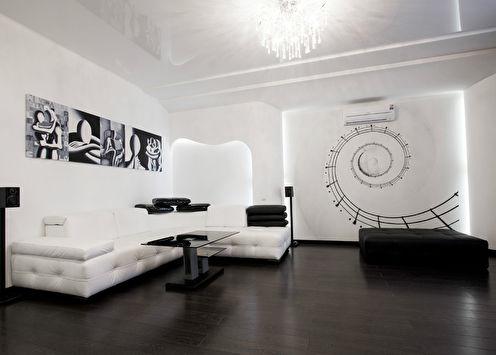 Квартира «Черное и белое»