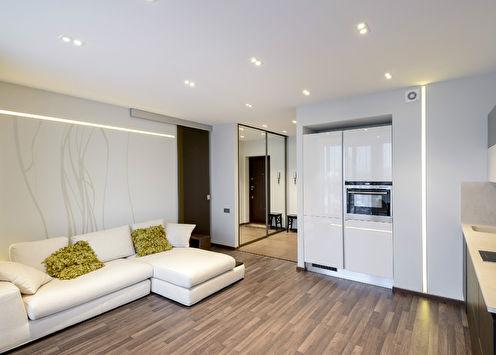 «Больше света»: Дизайн квартиры