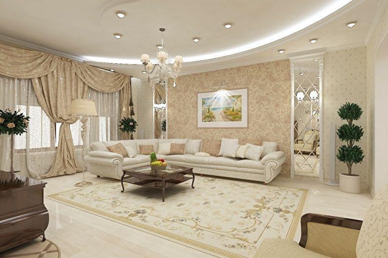 Дизайн квартиры в классическом стиле - Особенности