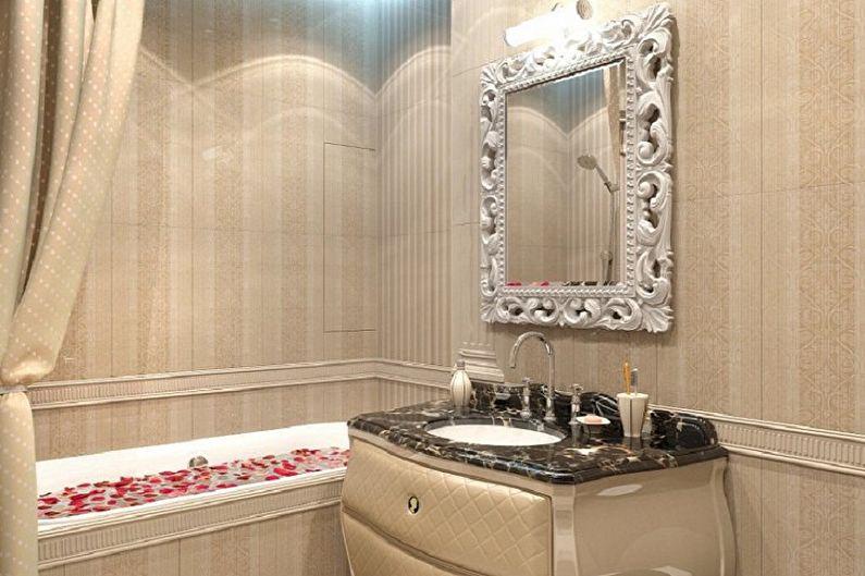 Ванная комната - Дизайн квартиры в классическом стиле