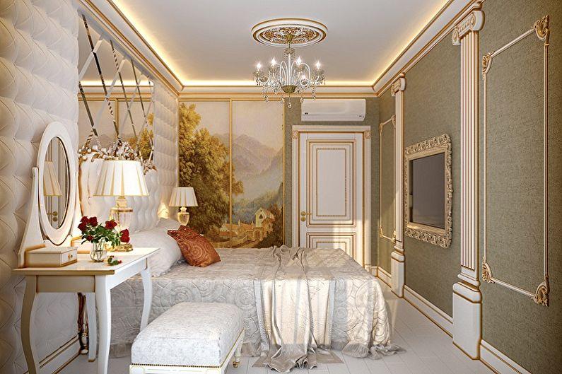 Дизайн интерьера квартиры в классическом стиле - фото и идеи