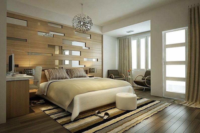 Дизайн спальни 15 кв.м. - Отделка пола