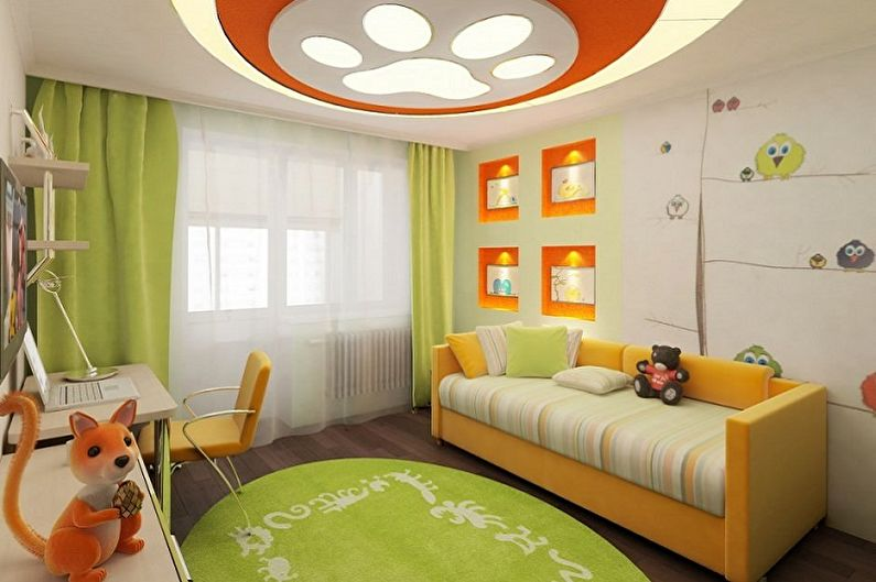 Дизайн маленькой детской комнаты - Особенности