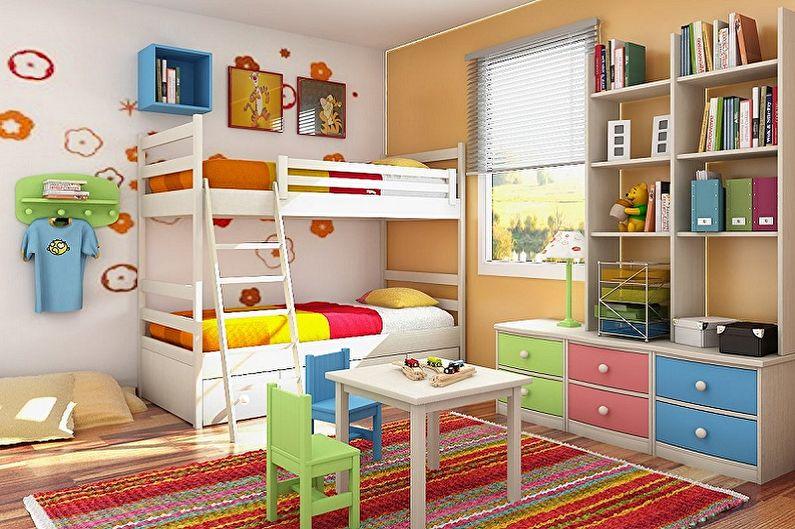 Дизайн маленькой детской комнаты - Цветовые решения