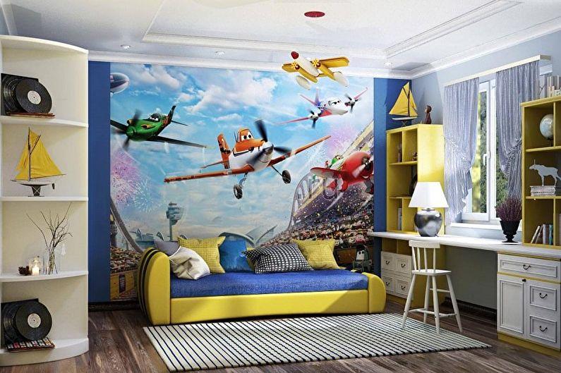Дизайн маленькой детской комнаты - Мебель