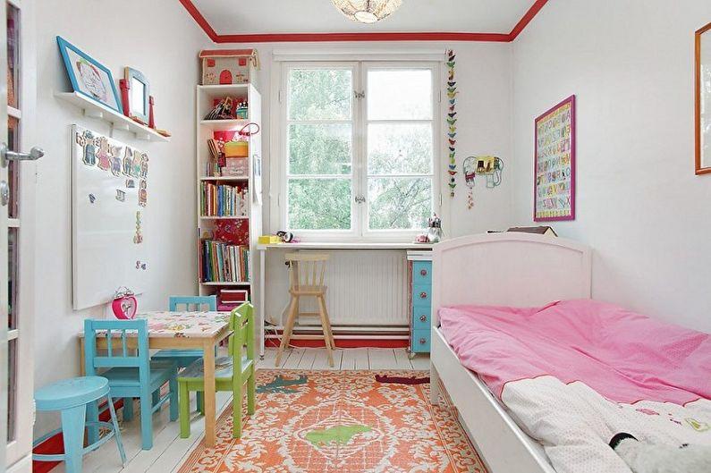 Маленькая детская комната (90 фото): идеи дизайна