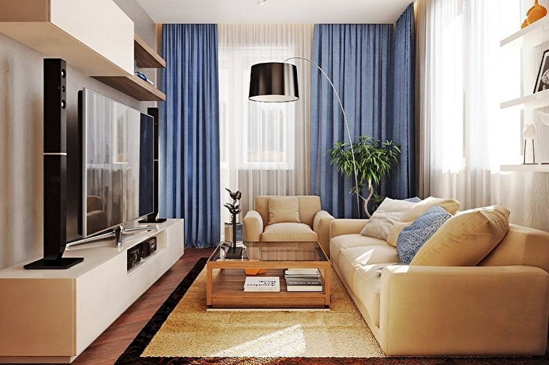 Дизайн маленькой гостиной (80 фото) - идеи для интерьеров и ...