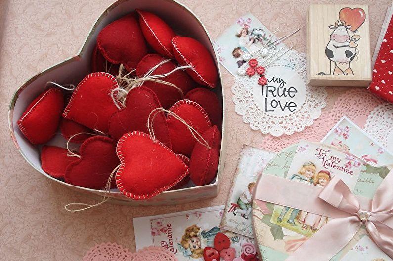 Подарок на 14 февраля своими руками - как сделать, 7 красивых идей (80 фото)
