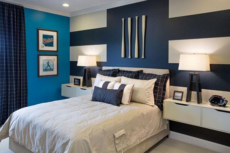Цвета и формы картин для оформления спальни