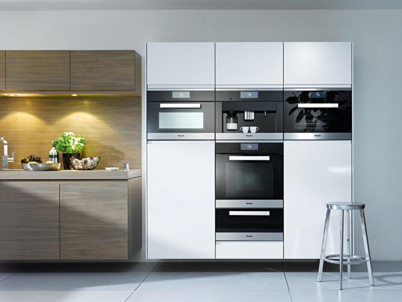 Дизайн кухни 9 кв.м. - Встроенная техника